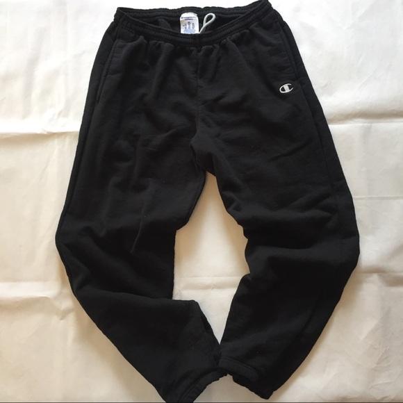 acacb3dfe1d9 Champion Other - Champion Eco Men sweatpants black C logo patch XL